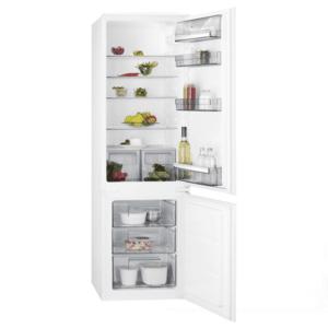Хладилник за вграждане AEG SCB51811LS, Клас А+, Общ капацитет 268 л